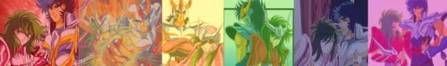 Phoenix Ikki & Andromeda Shun are brotherly love